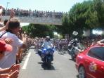 There are many events in the town, the Tour de France is one example.