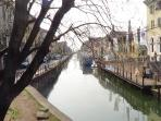 A Peaceful afternoon on Naviglio Grande