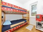 Second bedroom - bunk bed
