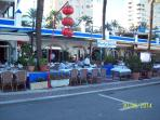Estepona Port 400 meters from the apartment with numerous restaurants, Bars and Tapas Bars