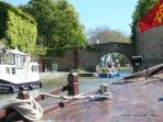 Take a boat trip on the Canal du Midi at Le Somail