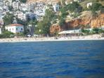 The beach in Kalkan