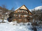 Chalet Solneige in winter