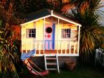 Wendy house at River Cottage