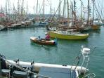 Yarmouth harbour 300m walk