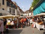 Local Salies market eachThursday
