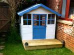 Wendy house at The Boathouse