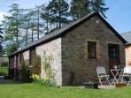 Aberyscir Coach House set in the Brecon Beacons