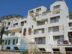 The Komurluk Apartments are walking distance to the centre of Kalkan.