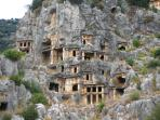 Lycian rock tombs at Myra.