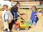 am Hagerhof gibt es besonders viele Spielmöglichkeiten für die Kinder