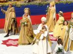 Assisi's medieval festival takes place each May.
