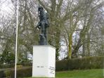 Iron Mike Site of D-Day landings