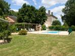 Gite garden and pool