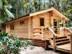 Genuine solid wood log cabins
