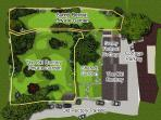 Garden Plan; 1 Acre of Magical Garden Surrounded by Rolling Feilds