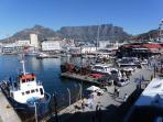 Victoria Alfred waterfront 15 min walk away