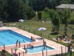 La Piscina: la diversión de los niños. También piscina de chapoteo para los mas peques