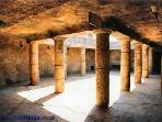 Tomb of the Kings is well worth a visit and is walking distance from the apartment