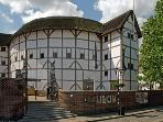Shakespeare's Globe Theatre - around the corner