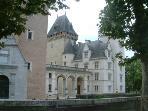 Henri IV's château in Pau