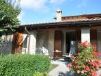 Patio apartment Borgo