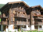 Exterior view of chalet
