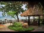 BEACHFRONT RESTAURANTS AT CHALONG BAY 2 MIN AWAY
