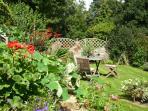 Eat al fresco in your own secluded garden