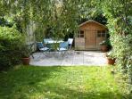 Garden - new terrace