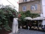 Piazza Madonna dei Monti - Platz am Ende der via Baccina