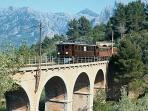 100 year old electric train to Soller.