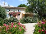 The Farmhouse at Gigan, luxurious renovation of classic 5 bed stone farmhouse.  2 en-sute bedrooms