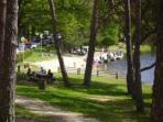 Treignac beach