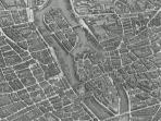 l'Ile de la Cité sur le plan Tourgot