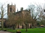 La chiesa di St Marys, a Nantwich