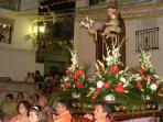 Fiesta of San Lorenzo each summer