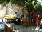 Town Paella each summer