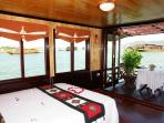 Suite cabin with panoramic window