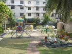 There is a Children's Play-Park
