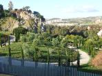 Stunning views from the bedrooms overlooking the Rosario gardens and golf courses