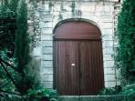 le portail de l'Oustaou