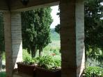 Vista dal patio