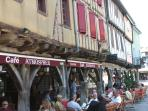 The picturesque village of Mirepoix