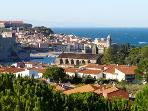 Collioure - Mediterranean coast only 1 hr away