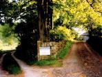 Entrance to Gateham Grange, Alstonefield