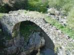 Morigerati - medieval bridge