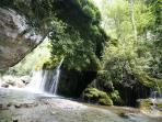Waterfall 'Venushair' at Casaletto
