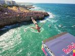 RedBull cliff diving July 2017 Polignano a Mare