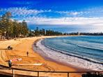 Manly Beach location shot 30 mtrs from apt